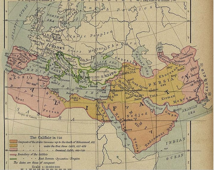 caliphate in 750