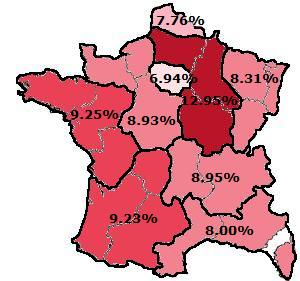 Civicness In France By Region Hbd Chick - Is paris in france