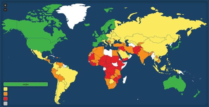legatum prosperity index 2012