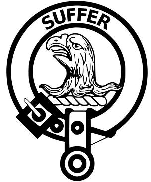 clan haldane crest badge - sm