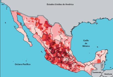 immigration from mexico by municipality - 2010