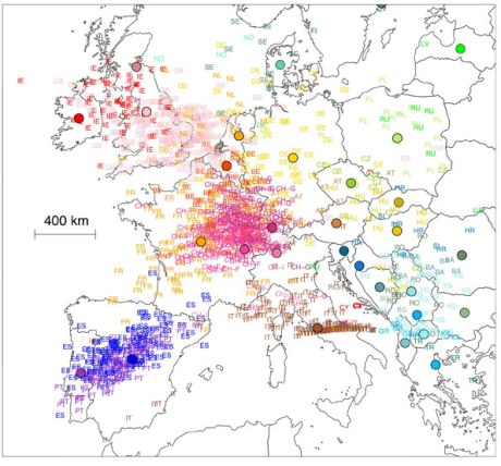 european populations - genetics