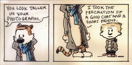 sherlock - calvin and hobbes