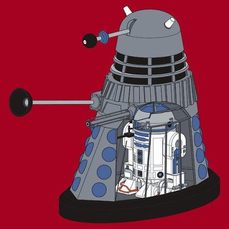doctor who - r2d2 dalek