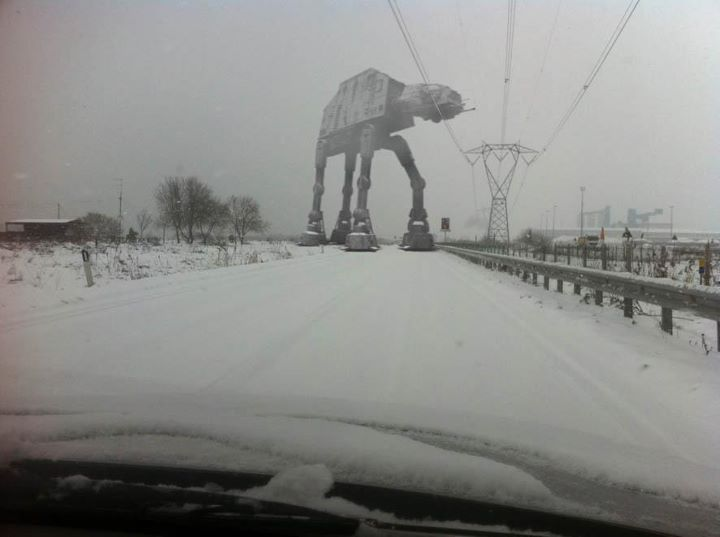 it's like hoth out there!