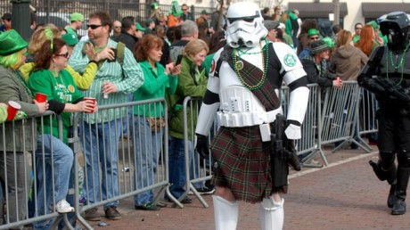 st. patrick's day stormtrooper 2014