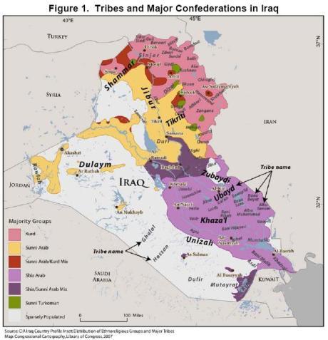 iraq - tribes