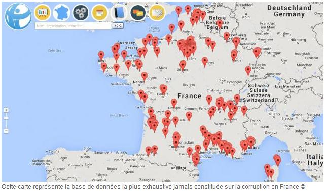 france - regional corruption