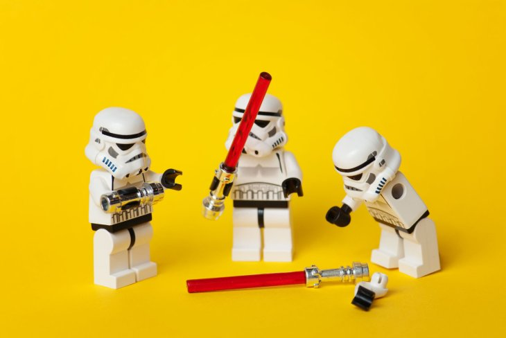 star wars - legos - until someone gets hurt