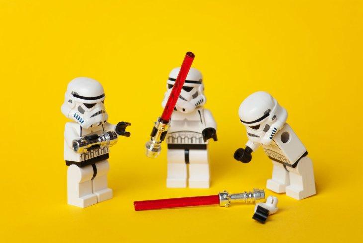 star wars - legos - until someone gets hurt