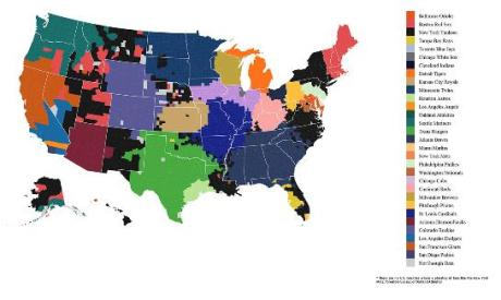sports - american nations - baseball