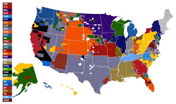 sports - american nations - football