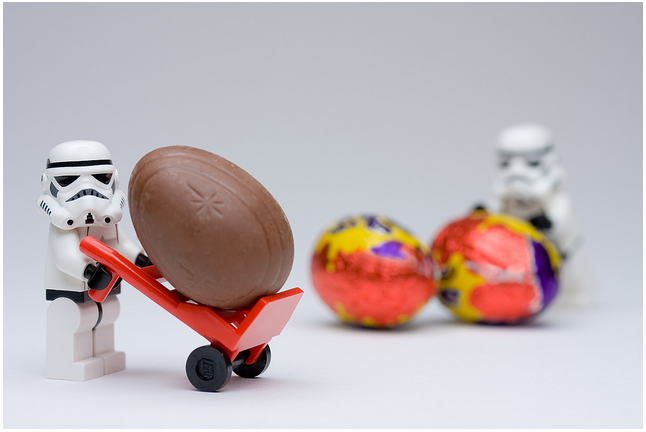 star wars - legos - easter