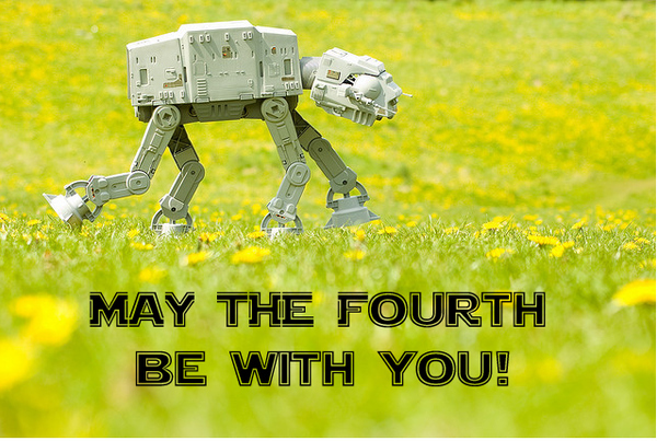 happy star wars day may the fourth be with you happy star wars day! hbd chick